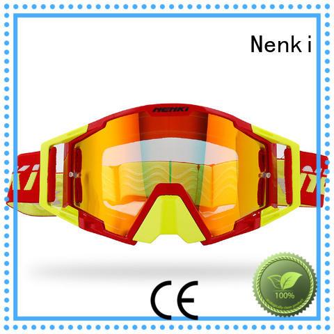 Hot selling Adjustable new best motocross goggles Nenki Brand