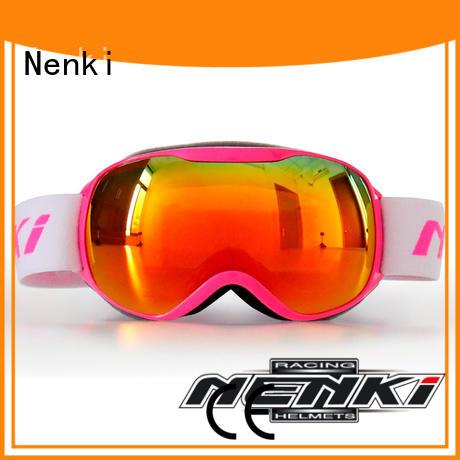 Nenki high-quality ski goggles over glasses supply for motorbike