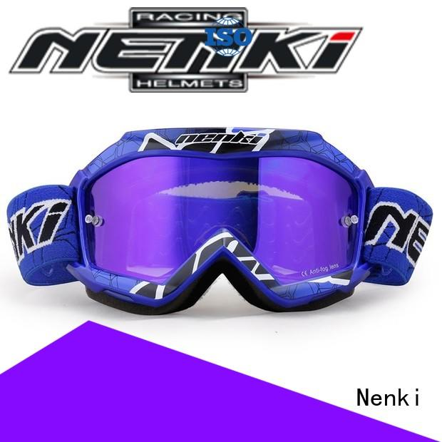Wholesale cheap best motocross goggles Nenki Brand