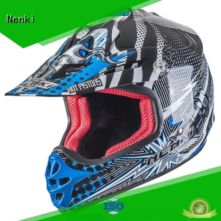 Adult Fashion motocross helmets for sale affordable Nenki company
