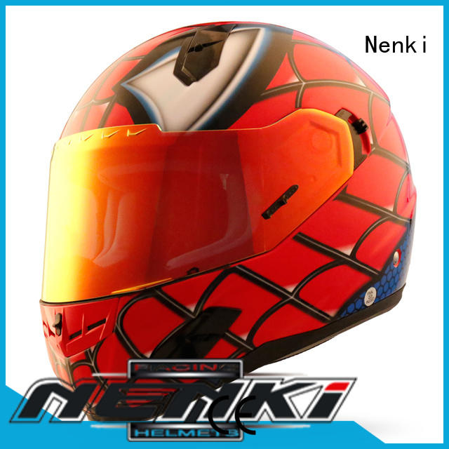 Nenki Brand Fashion full face motorcycle helmets for sale cheap factory