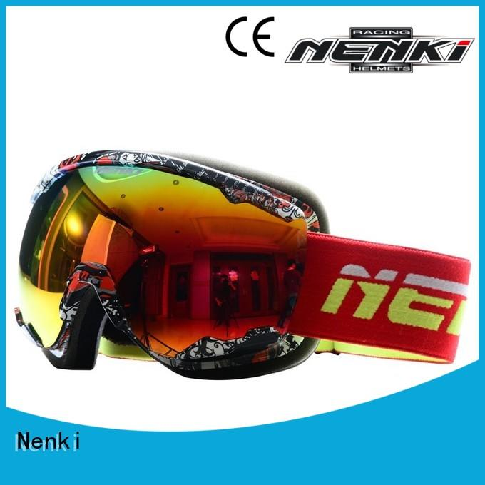 High quality affordable Nenki Brand top rated ski goggles factory