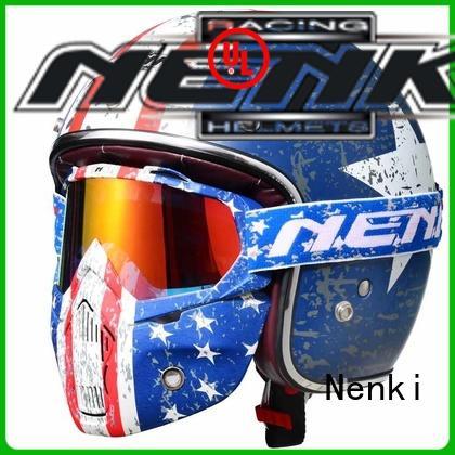Nenki best open face helmet 2020 suppliers for motorcycle