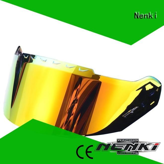 Nenki custom motorcycle crash helmet visors for business for motorcycle