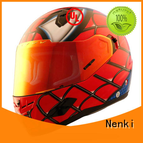 wholesale colorful new Nenki Brand discount full face motorcycle helmets manufacture