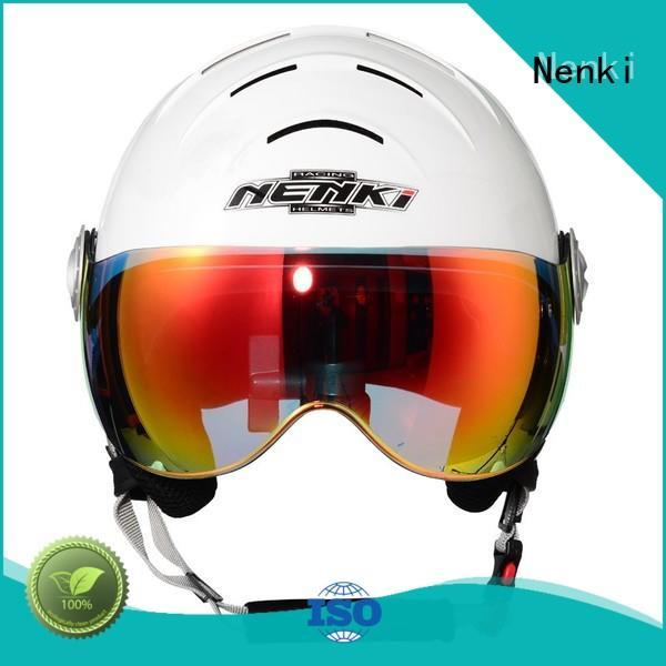 new certified High quality ladies ski helmet sale Nenki Brand