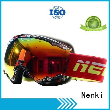High quality Flexible Nenki Brand top rated ski goggles