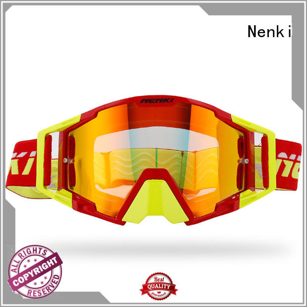 latest full face helmet with goggles factory for motorbike