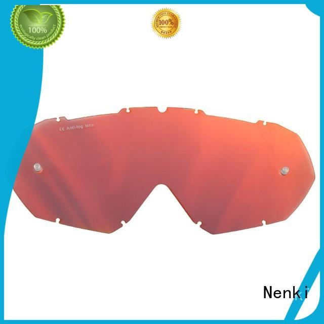 Nenki Brand Top rated Protective custom Motocross Goggles Lens