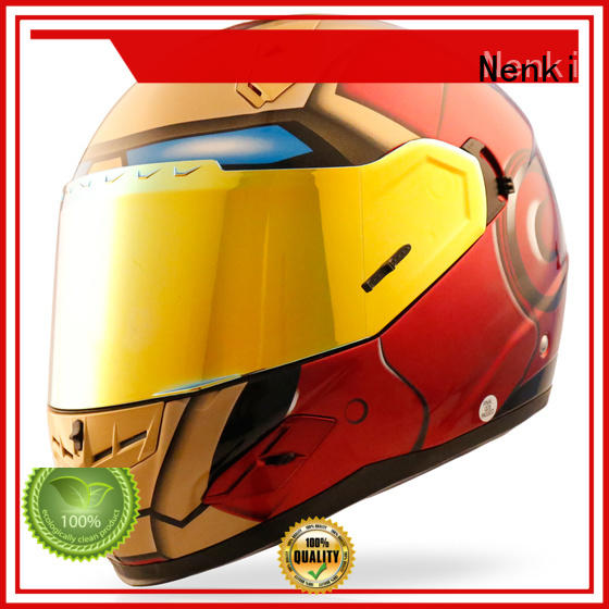 Nenki Brand Hot selling cheap Multi Color Comfortable full face motorcycle helmets for sale