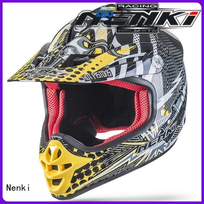 Nenki cool motocross helmets suppliers for motorcycle