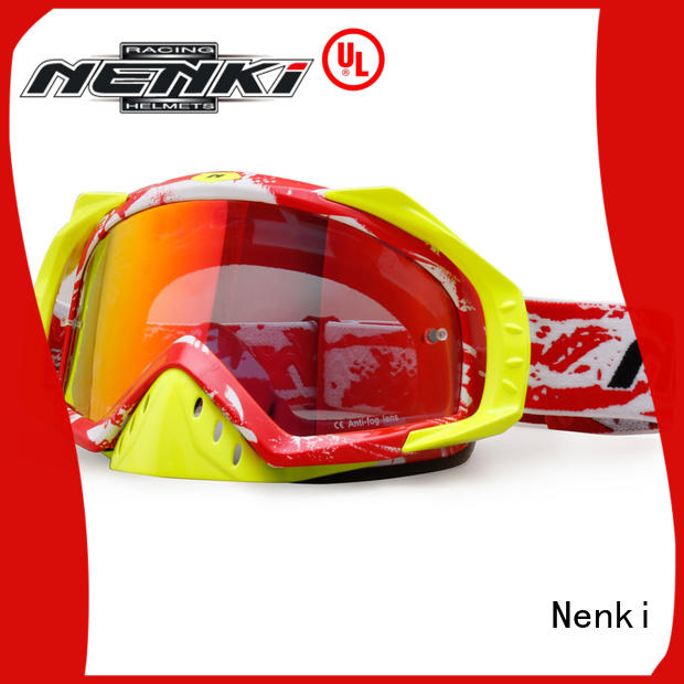Comfortable Fashion best motocross goggles Nenki Brand