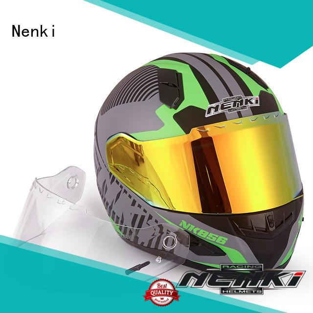 Hot spiderman discount full face motorcycle helmets wholesale Nenki Brand