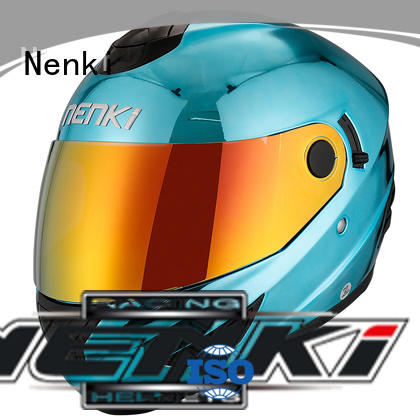 discount full face motorcycle helmets safe Nenki Brand full face motorcycle helmets for sale