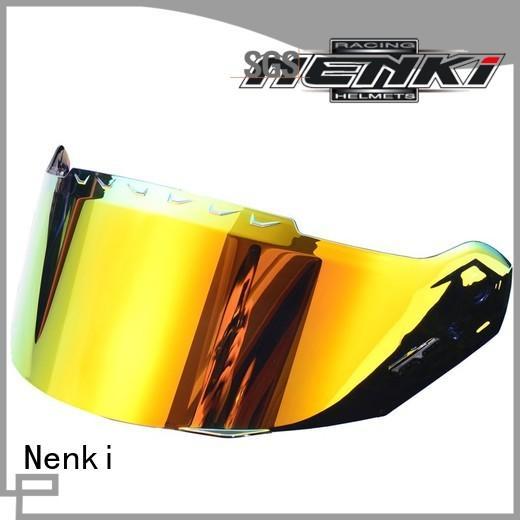 Nenki pink motorcycle helmet visor company for motorbike