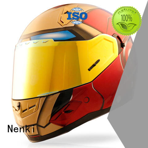 Multi Color new discount full face motorcycle helmets Nenki manufacture