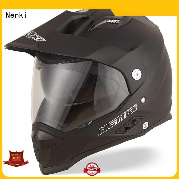Nenki off road helmet with shield manufacturers for outside