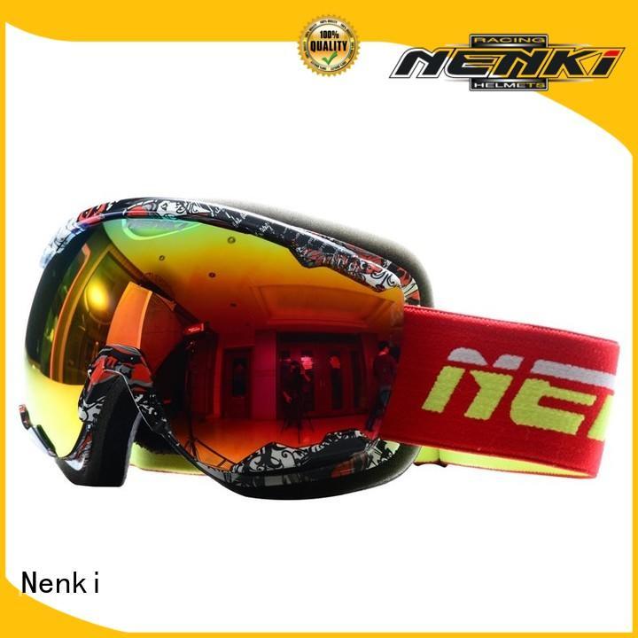 Flexible top rated ski goggles Fashion Top rated Nenki Brand