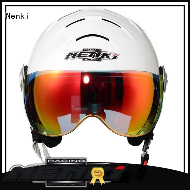 certified approved High quality Comfortable ladies ski helmet sale Nenki