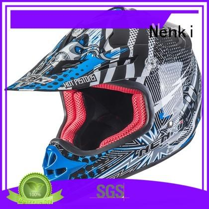 Nenki wholesale discount motocross helmets company for motorbike