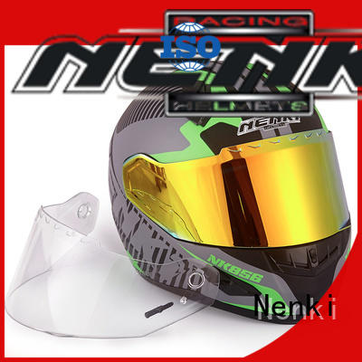 Nenki full face helmet with goggles suppliers for outside