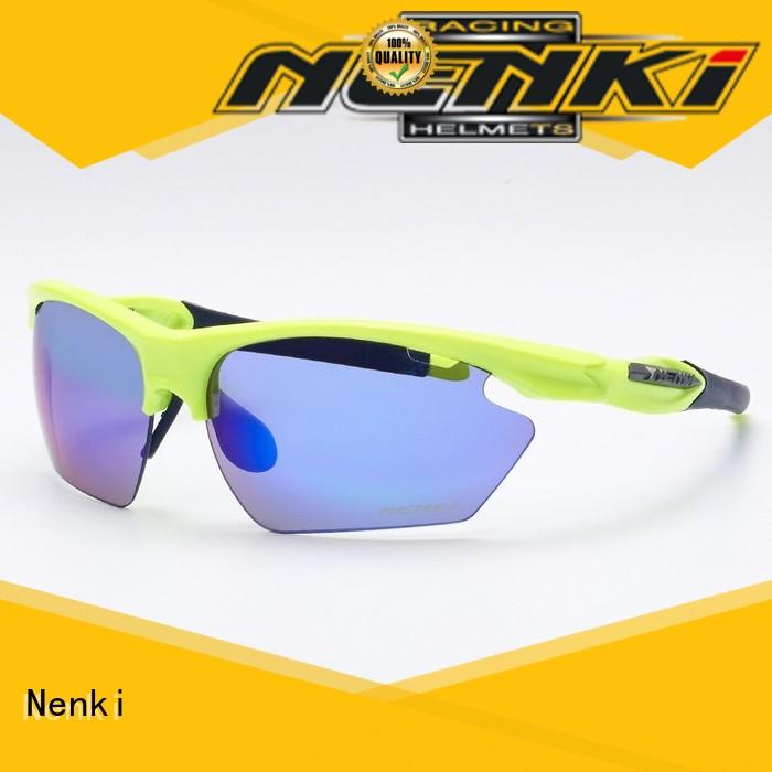 Wholesale road cycling sunglasses Hot Sale Nenki company