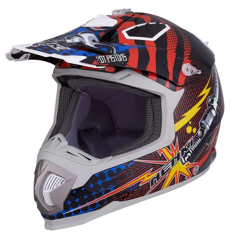 best blue and white motocross helmets for outside-1