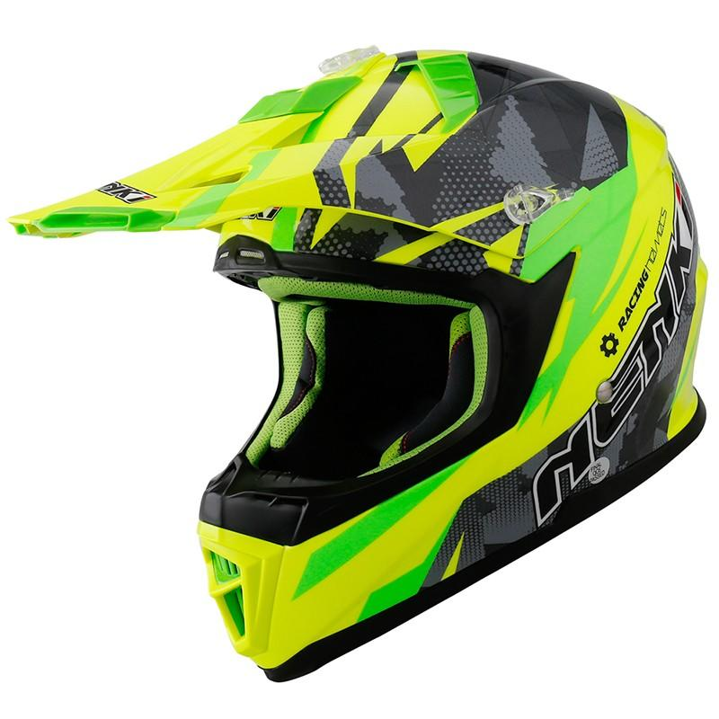 Nenki custom blue motocross helmets manufacturers for outside-1