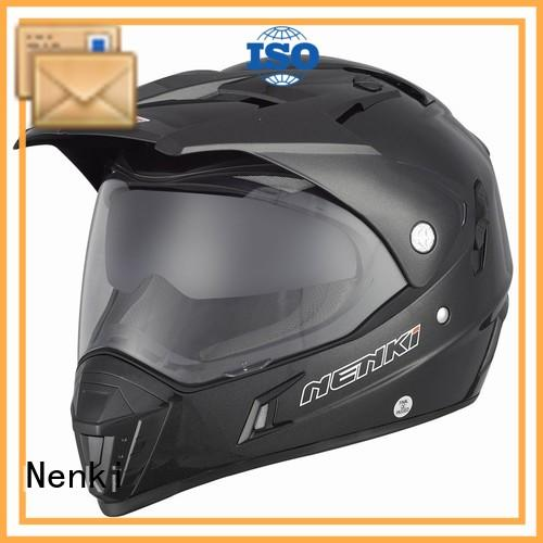 Adult Protective safe top motorcycle helmet brands Top rated Nenki Brand