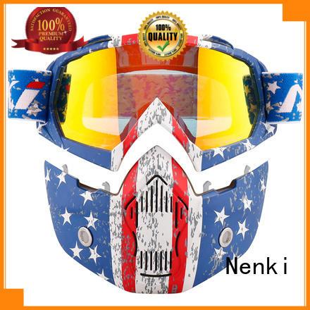 Nenki safest open face motorcycle helmet supply for motorcycle