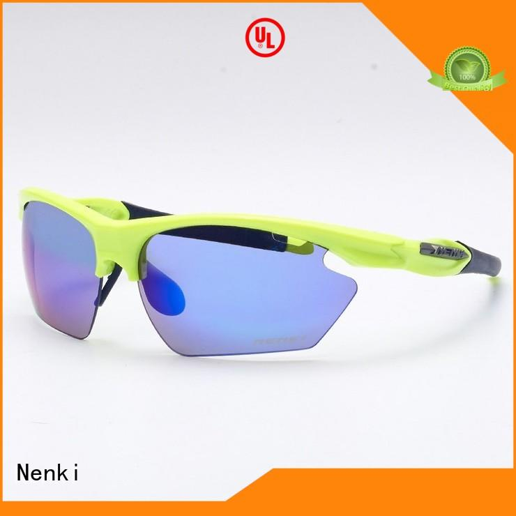 Unique new Wholesale road cycling sunglasses Anti-UV Nenki