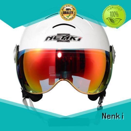 Wholesale approved High quality ladies ski helmet sale Nenki Brand