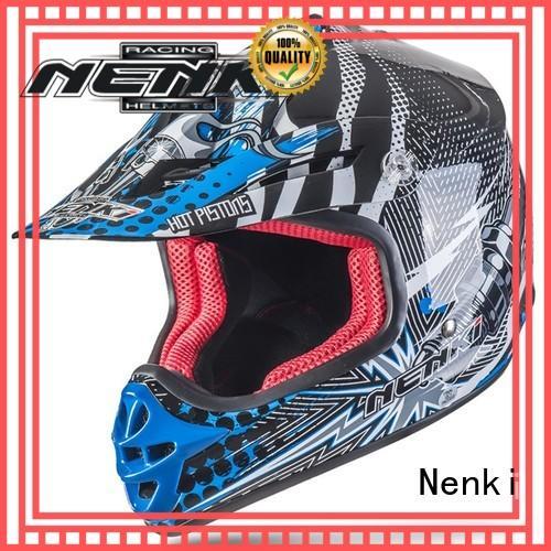 Nenki Brand colorful motocross helmets for sale Unique factory