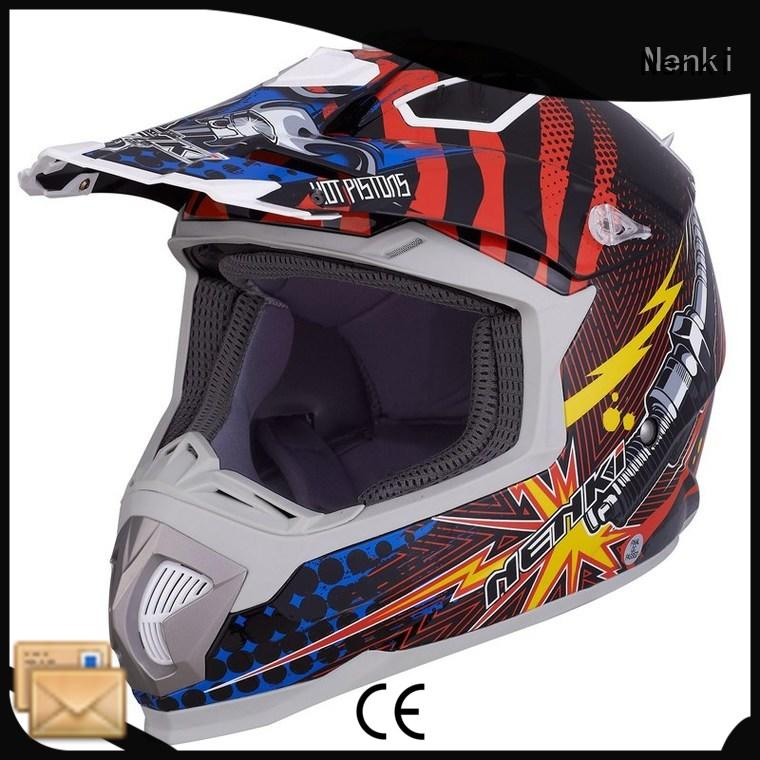 Nenki Brand Multi Color Comfortable Top rated High quality motocross helmets for sale