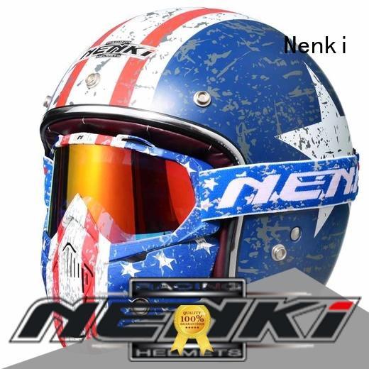 best open face motorcycle helmet Unique Nenki Brand open face helmets online