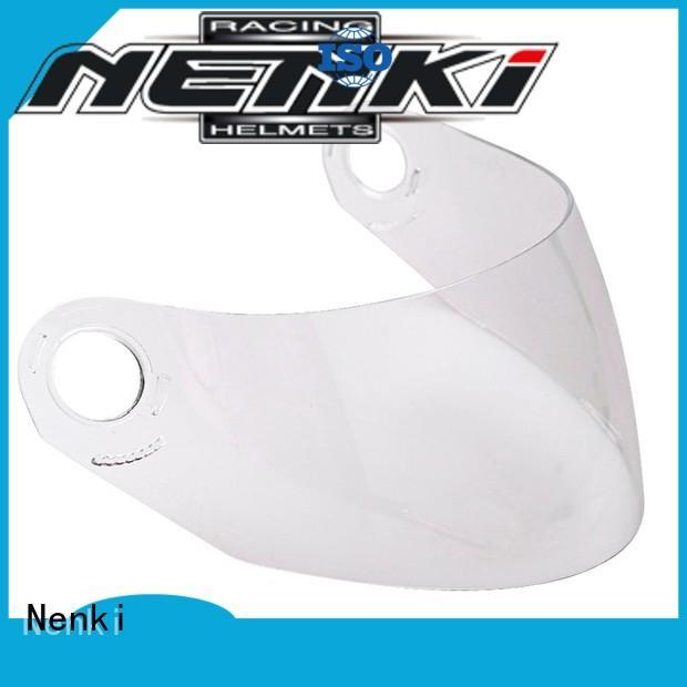 speed helmet visor High quality certified Nenki Brand helmets visors