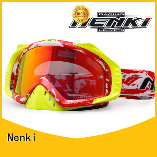Protective Anti-UV wholesale cheap motocross goggles Adjustable Nenki