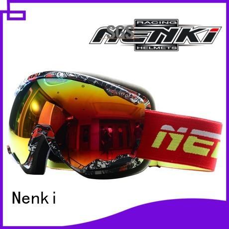 top rated ski goggles Comfortable certified Nenki Brand ski goggles online