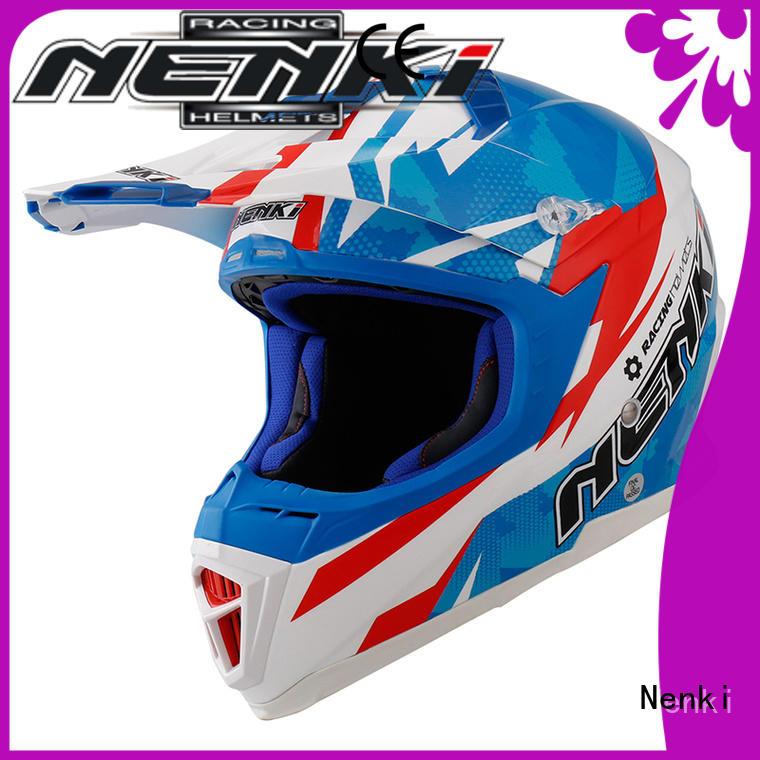 cheap Hot selling motocross helmets for sale Multi Color Nenki