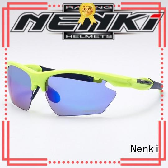 dustproof Unbreakable Wholesale road cycling sunglasses Unique Nenki