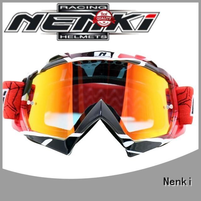 Nenki Brand Protective Comfortable custom best motocross goggles
